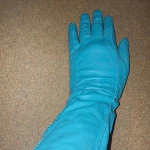 Banana Republic Long Leather Gloves